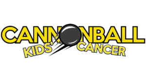 Cannonball Kids Cancer organization logo