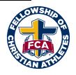 Fellowship of Christian Athletes organization logo