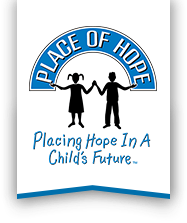 Place of Hope logo - Placing Hope In a Child's Future