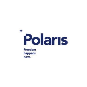Polaris logo - Freedom happens now