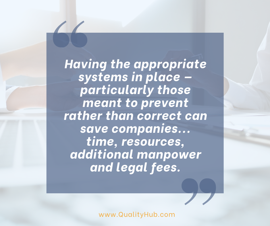 Resolving Consent Decree Issues with QualityHub as Third-Party Experts